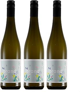 Weinhaus Brand | Bio Weißburgunder trocken 2020 | 3 x 0,75l Weißwein | weißer Burgunder vegan | 12,0% | Weisswein | Pfalz Wein | Qualitätswein | Bio-Siegel DE-ÖKO-006 | zum Verschenken