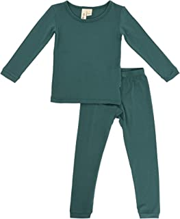 Toddler Pajama Set - Pjs for Toddlers Made of Soft Bamboo Rayon Material