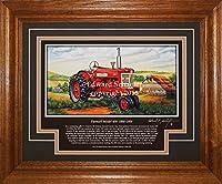 Farmall Model 4501956–1958HトラクターGift for Dad Farmall画像壁装飾アート