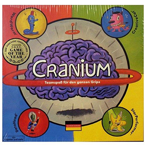 Cranium Teamspaß für den ganzen Grips. Ab 4 Teens, Twens und Erwachsene