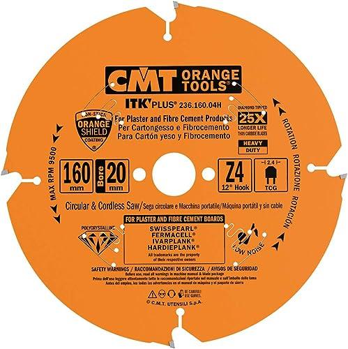 new arrival CMT SAW BLADE 2021 FOR lowest FIBERCEMENT DP 160x2.4/1.8x20 Z4 TCG outlet sale