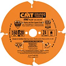 CMT Orange Tools 236.160.04H - Sierra circular para mat. abrasivos d 160x2.2x20 z4 dp