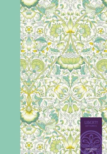 Liberty Stationery Set (Liberty London Stationery Gift Set, Fabric Pattern Paper and Envelopes)