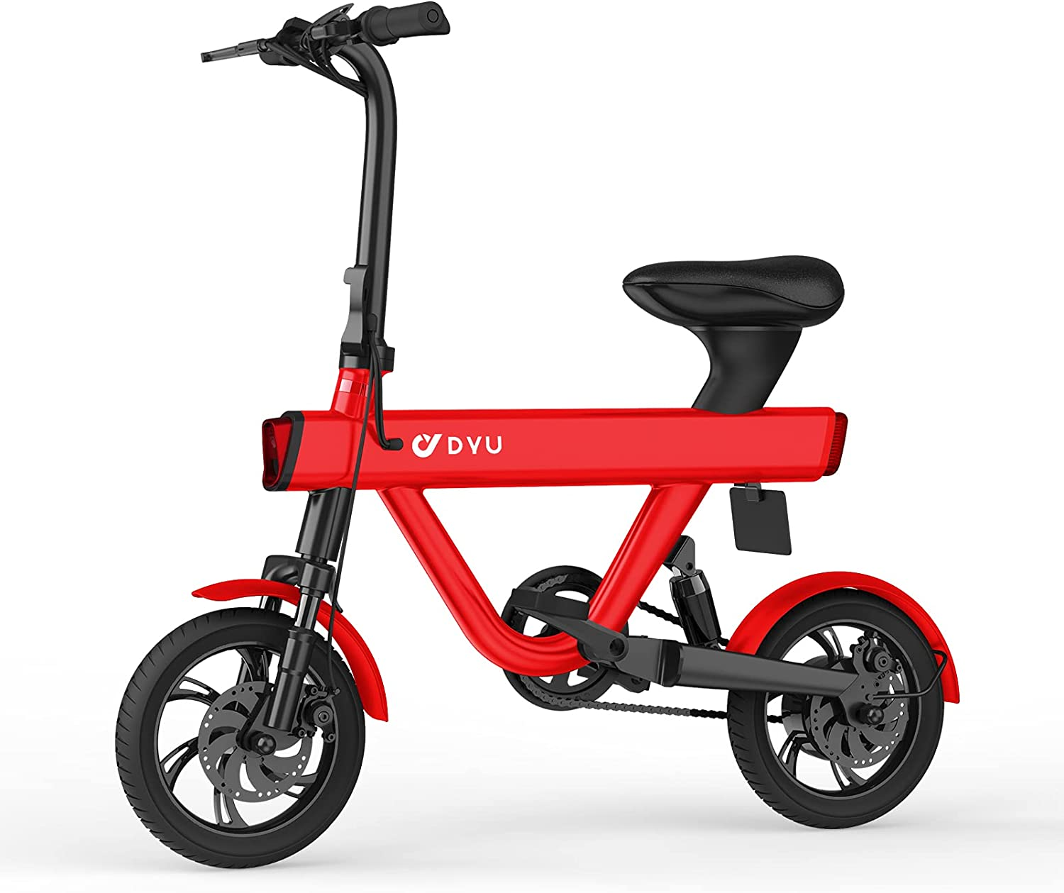 DYU Folding Electric Online limited product Bike Ebike Directly managed store V1 Bicycle Commuter wi