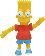 NJ Croce Bart Simpson Bendable Action Figure Collectible, 4.5