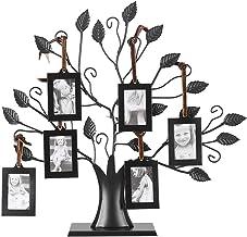 Moldura para foto, moldura moderna para fotos de família, árvore de exibição com molduras para pendurar decoração de casa,...