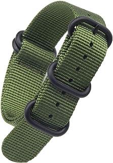 26mm ナイロンベルトZulu時計ベルトズールー大型腕時計バンド NATOタイプ G10 ストラップ ミリタリー替えバンド汎用