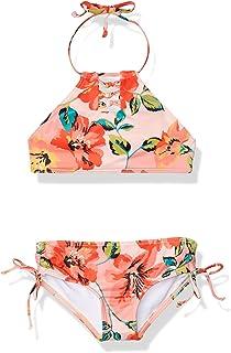 BILLABONG Girls' Beach Bliss Hi Neck Two Piece Swim Set