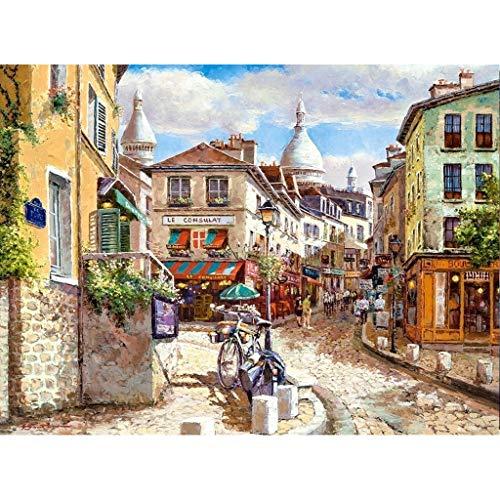 Assoluto La Iglesia del Sagrado Corazón de Montmartre, Rompecabezas, 3000 Pintura Piezas en Caja Fotografía Juguetes Arte del Juego, Adultos y niños El estrés relevista Puzzle 427