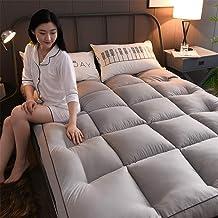 Comfortable Mattress Thick Sleep Mattress Topper, Feather Futon,Tatami Floor mat Japanese Plush Premium Hotel Quality matt...
