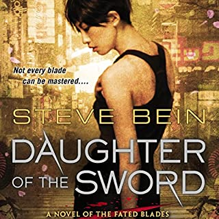 Daughter of the Sword audiobook cover art
