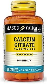 Calcium Citrate with Vitamin D3, 60 Caplets