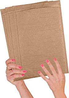 25 Pack Kraft Padded envelopes 8 1/4 x 13 Bubble Mailers 8.25 x 13 Natural Bubble envelopes Peal and Seal. Brown Cushion envelopes for Shipping, mailing, Packing. Laminated Kraft Paper. Wholesale.