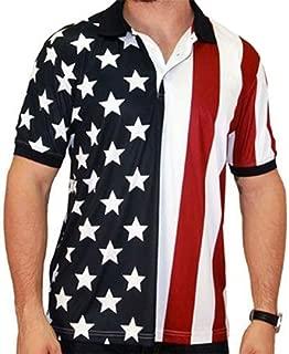 Performance Golf American Flag Shirt