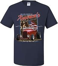 Hot Rod Highway Route 66 T-Shirt America's Main Street Vintage Tee Shirt