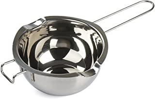 MyLifeUNIT Chocolate Melting Pot, Stainless Steel Double Boiler Insert Baking Tools