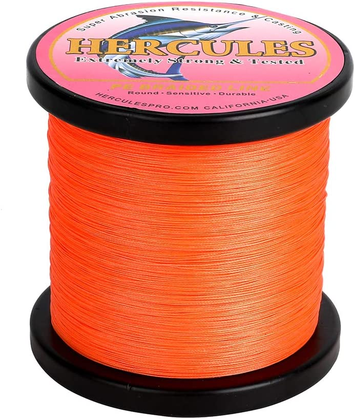 HERCULES for Her Cost-Effective Special sale item Super Braided 8 Ranking TOP6 Fis Strands Cast