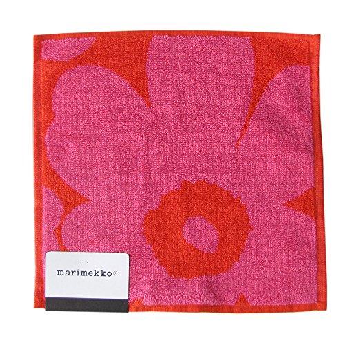 MARIMEKKO Unikko Mini Towel 25x25 cm RED/PINK
