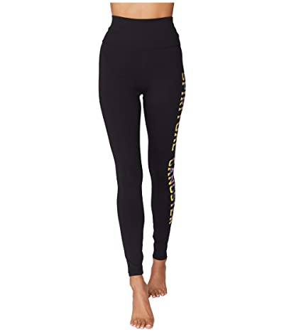 Spiritual Gangster Essential High-Waist Leggings (Black) Women