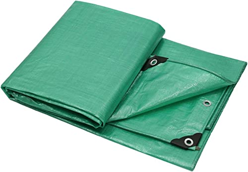 Tarpaulin HUO épaississez la bache imperméable de Toile de bache de Prougeection Solaire de Tissu imperméable extérieur - Multi-Taille facultatif (Taille   3  5m)