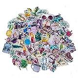 MENGYUE 70 Uds, Paquete de Pegatinas VSCO de Estilo Veraniego, Juguetes para niñas, Pegatinas pintadas a Mano para portátiles, portátiles, Nevera, Coche, teléfono, Pegatinas de PVC