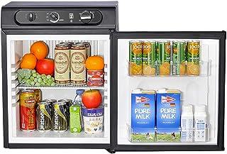 SMETA 110V/12V/Gas Portable Propane Refrigerator RV Truck fridge Cooler, 36L, Black
