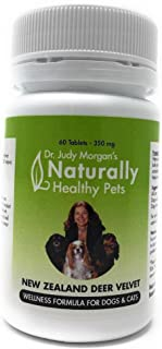 Dr. Judy Morgan's Naturally Healthy Pets New Zealand Deer Velvet Wellness Formula for Dogs & Cats