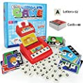 Matching Letter Game, Alphabet Reading & Spelling, Words & Objects, Number & Color Recognition, Educational Learning Toy for Preschooler, Kindergarten 3+ Years Old Kids Boys Girls Toddlers (Style A)