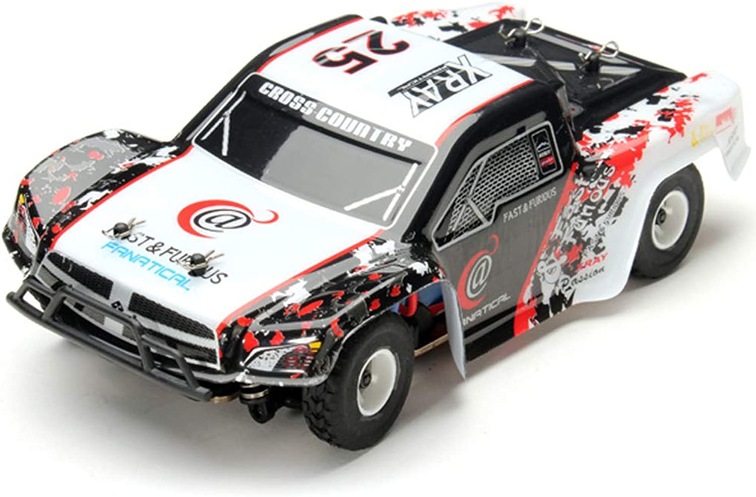 Remote Control car 1 28 Off-Road Vehicle 2.4G Electric Four-Wheel Drive Remote Control car Alloy Chassis Climbing car Toy