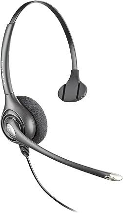 $62 Get Plantronics SUPRA PLUS MONAURAL/NC HEADSET ( HW251N ) - Silver/Gray