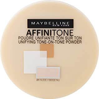 Maybelline New York Affinitone True-To-Skin Perfecting Pressed Compact Powder - 21 | Nude, beige