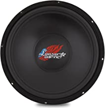 Lanzar 15in Car Subwoofer DVC - IB Open Air Audio Stereo Speaker, 4 Ohm Impedance, Steel Basket, 400 Watt Power, Non-Pressed Paper Cone and Foam Surround for Vehicle Sound System - DCTOA15D