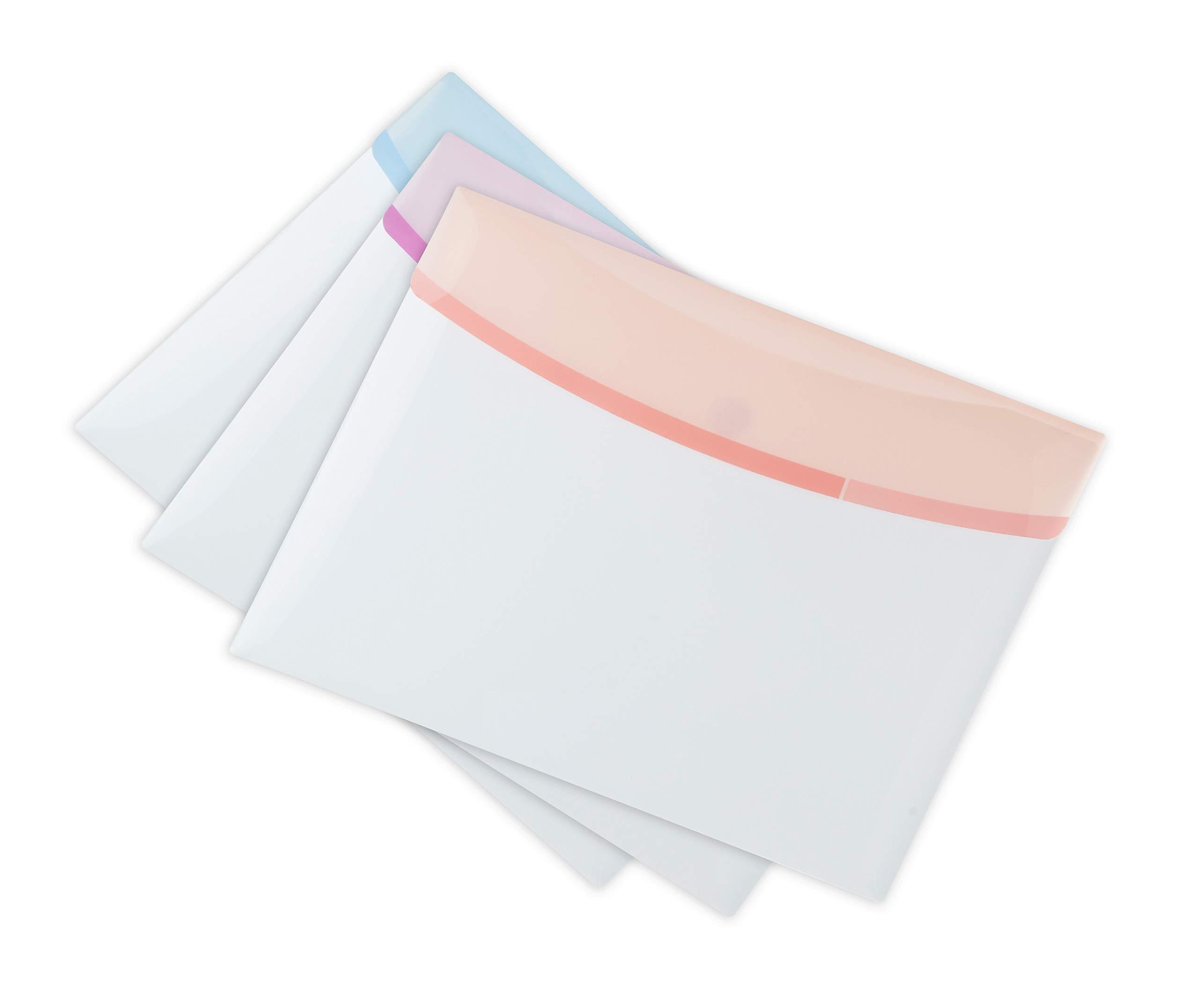 Tarifold Color Dream, Carpeta Sobre A4 Plástico Portafolios, A4, Colores Pasteles: Amazon.es: Oficina y papelería