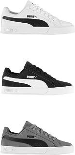 Official Brand Puma Smash Vulc Trainers Juniors Boys Shoes Sneakers Kids Footwear