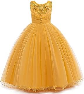 Girls Pageant Party Dress Toddler Wedding Flower Girl Long Dress