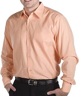Daniel Ellissa Mens Poly Cotton Long Sleeve Button Up Dress Shirt