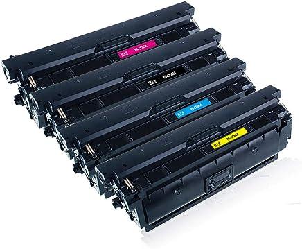 Reemplazo de cartucho de tu00f3ner Compatible para HP 508A cartucho de tu00f3ner M553DN M553N impresora M553X
