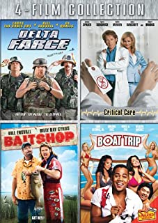 Four-Film Collection: (Delta Farce / Critical Care / Bait Shop / Boat Trip)
