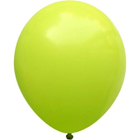 Lime Green metallic ballons 28cm