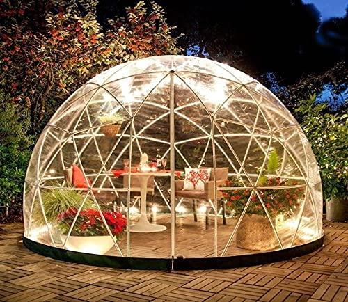 Tienda de campaña, iglú de jardín – 12 pies elegante invernadero, zona de juegos, invernadero o cenador