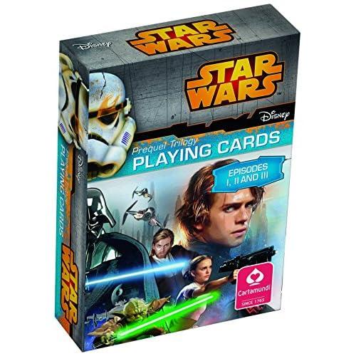 ASS Cartamundi Disney Star Wars Carte da Gioco per Bambini, Gioco di società, Episode 1-3