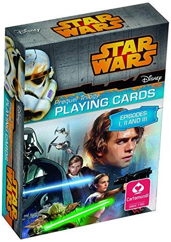 ASS Altenburger 22501576 - Star Wars Spielkarten - Episode I-III