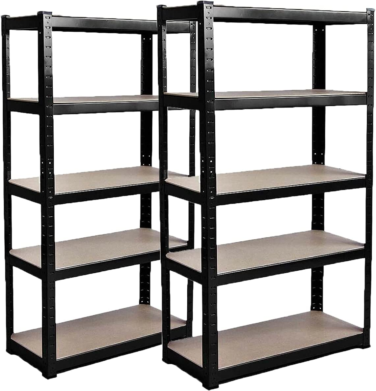 5 Tier Regular store Shelving Unit Luxury Adjustable Garage Duty Multi Heavy Shelves