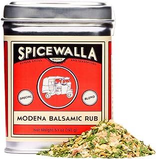 Spicewalla Modena Balsamic Rub 4.8 oz   Non-GMO, No MSG   Dried Balsamic Vinegar Powder Spices and Seasonings