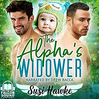 Couverture de The Alpha's Widower