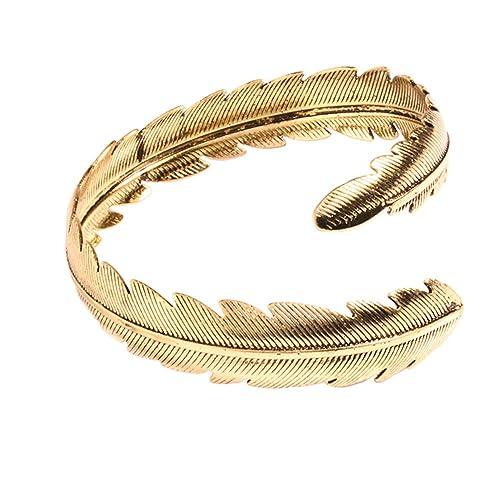 74fb70138560 Pulsera de cadena con colgante de plumas para mujer de Emorias