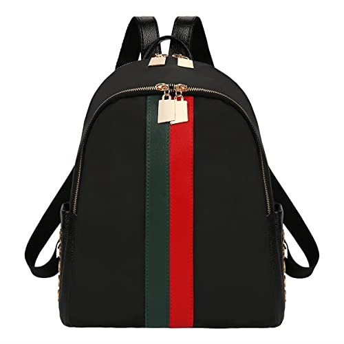 4885cadcb xhorizon FL1 Double Zippers Leather Luxury Designer Women Backpack Bag  Ladies Teenager Tote Handbag