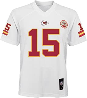 Outerstuff Patrick Mahomes Kansas City Chiefs NFL Youth 8-20 White Home Mid-Tier Jersey