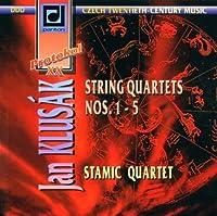 Klusak;String Quartets 1