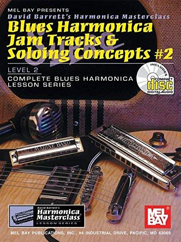 Blues Harmonica Jam Tracks Soloing Conce (Harmonica